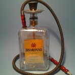 [Disaronno] One Man Hookah  Black w/1 Hose
