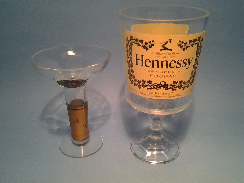 hennessy pimp cup wine glass 6 liquor bottle desk lamps hookah pipes highball glasses. Black Bedroom Furniture Sets. Home Design Ideas