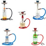 Liquor Bottle Hookahs 1 Hose
