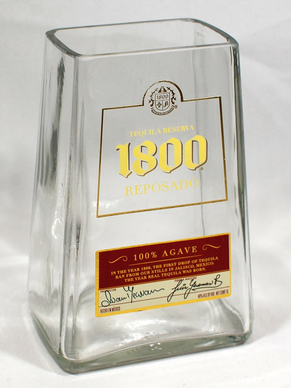1800 Liquor Bottle Vase