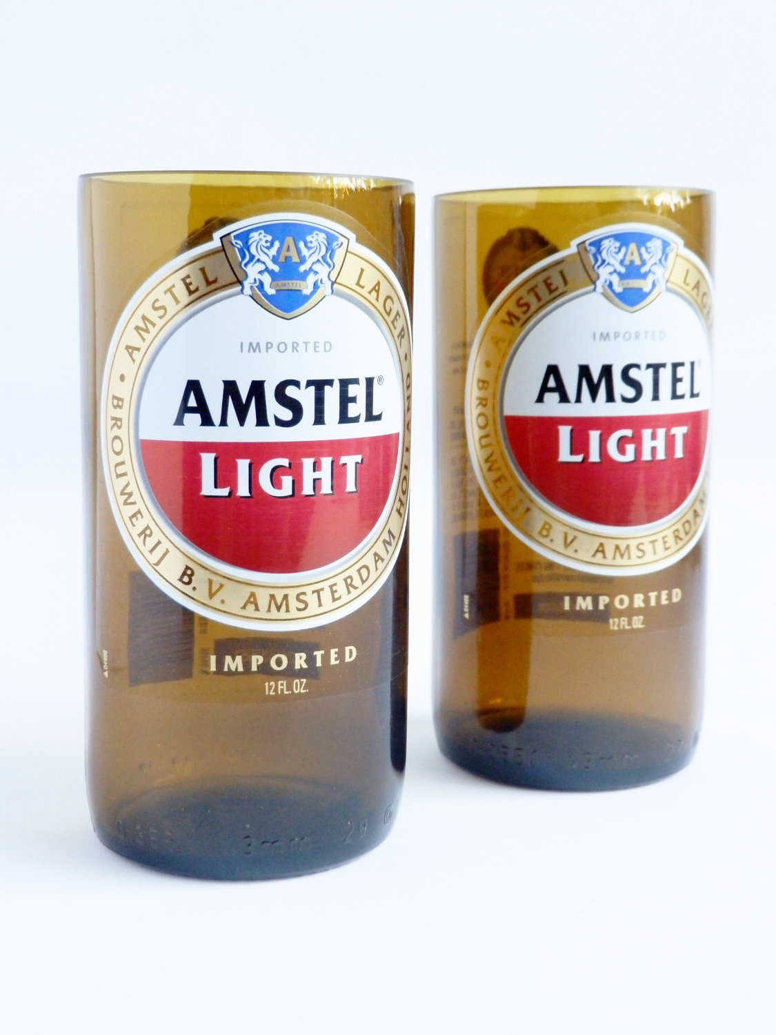 Amstel Light Beer Bottle Glass Tumblers2