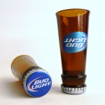Bud Light Beer Shot Glasses 1