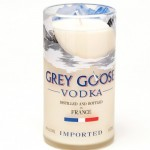 GreyGoose tall candle