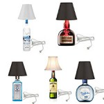 Liquor Bottle Table Lamps