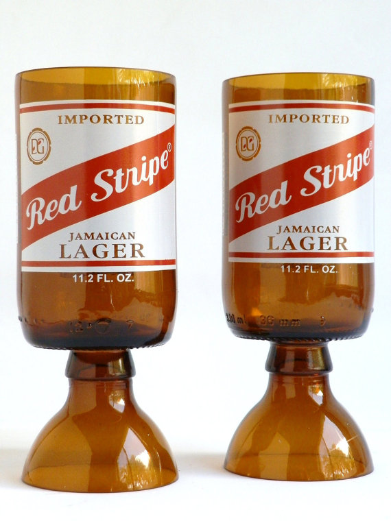 Red Stripe Goblets2