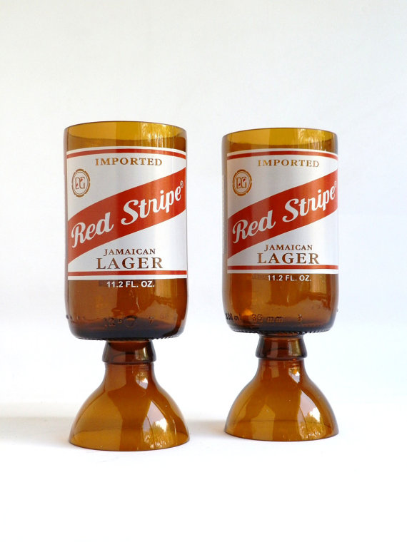 Red Stripe Goblets3