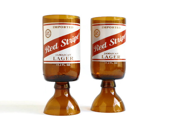 Red Stripe Goblets5