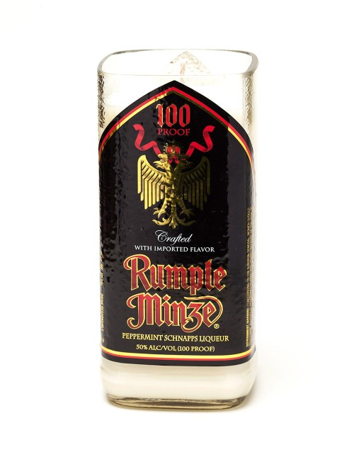 1 Rumple Minze 174 20 Oz Candle With Wick Liquor Bottle