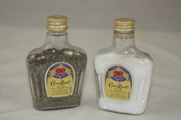 crown Royal salt pepper