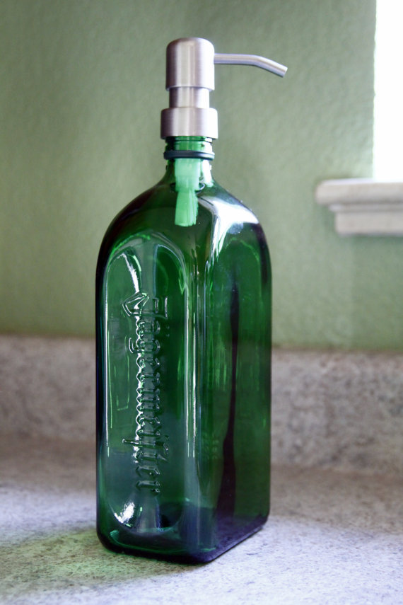 Jagermeister 174 Liquor Bottle Soap Dispenser Liquor Bottle