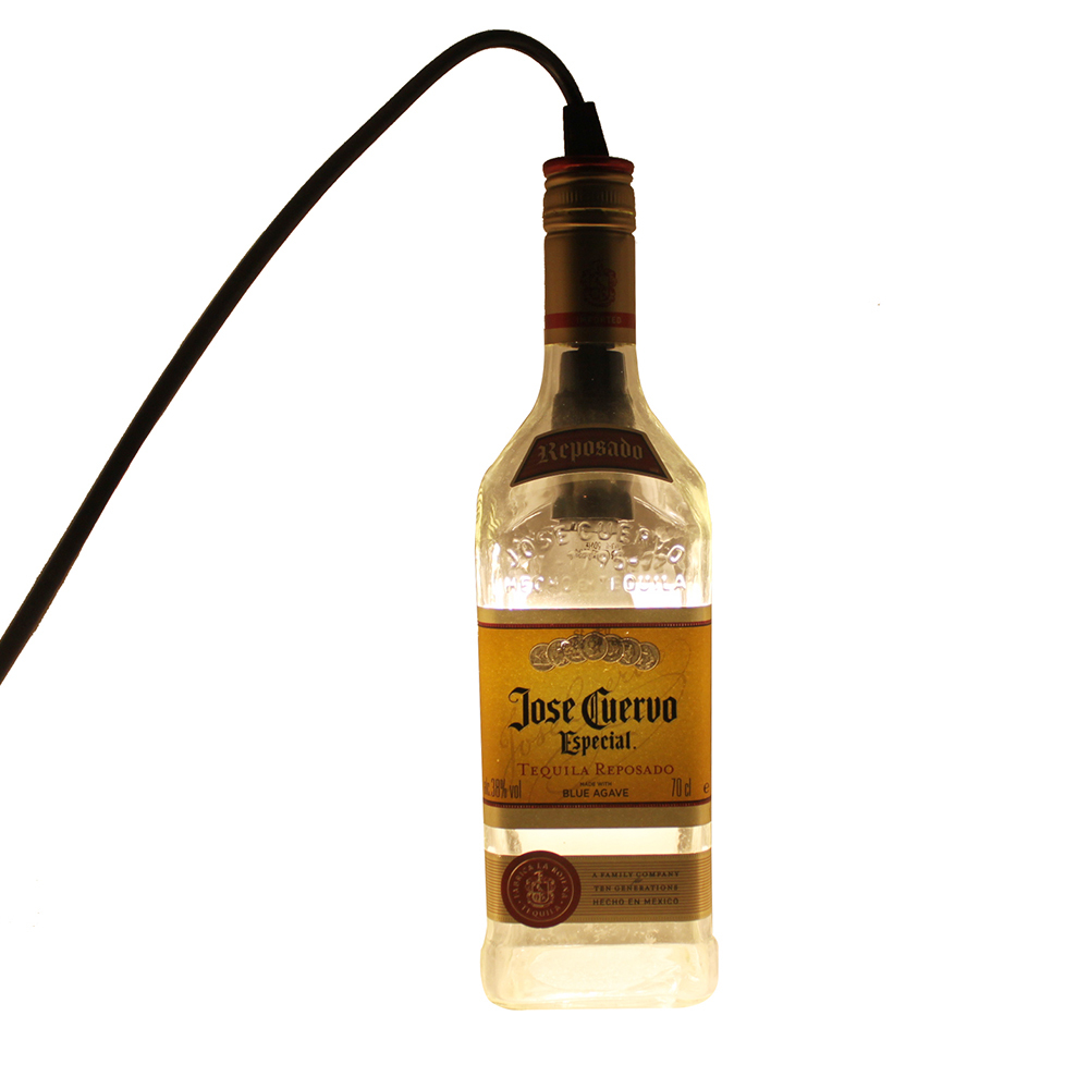 Jose Cuervo Hanging Liquor Bottle Pendant Lamp Light